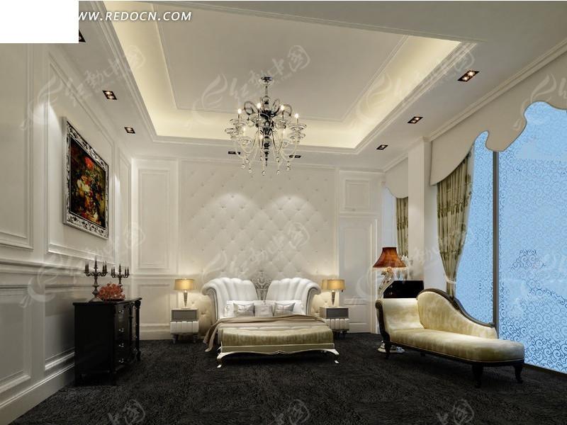 黑白简洁卧室设计