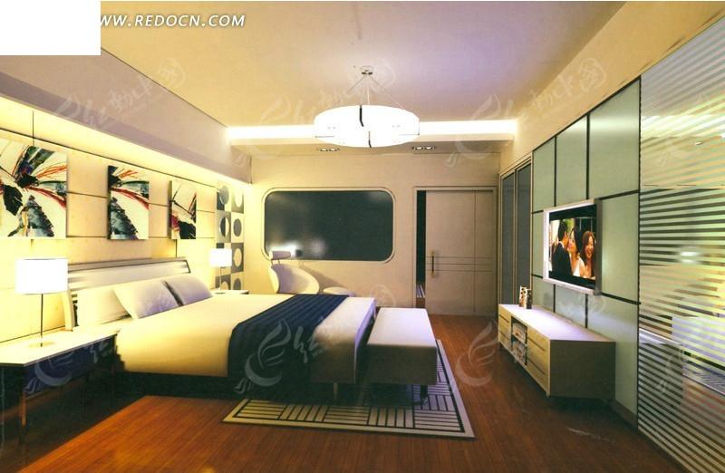 超标准客房装修设计效果图