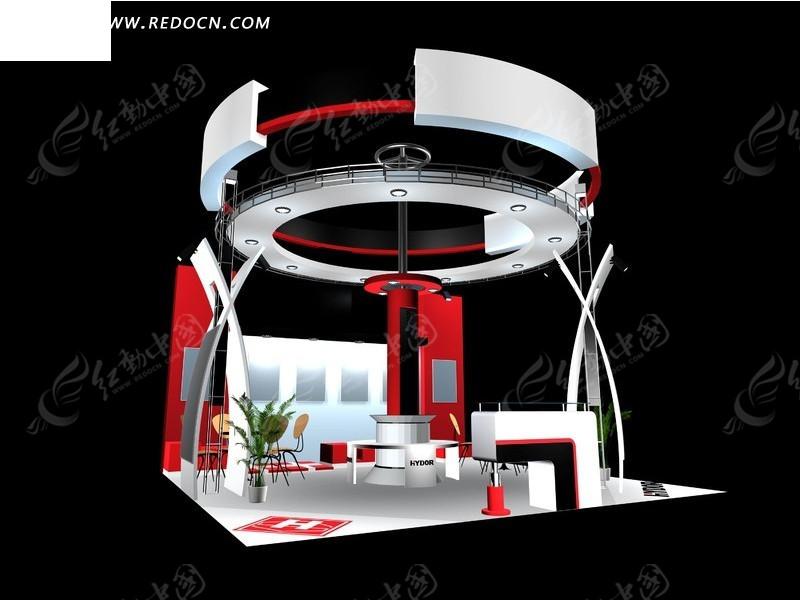 个性创意大厅设计3d效果图图片高清图片