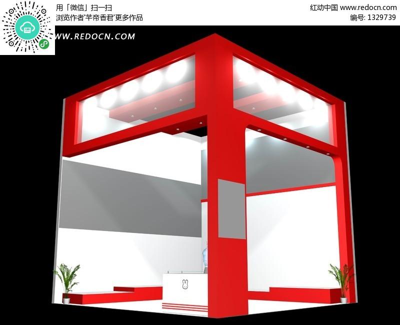 设计 欧式风格简洁商业展厅设