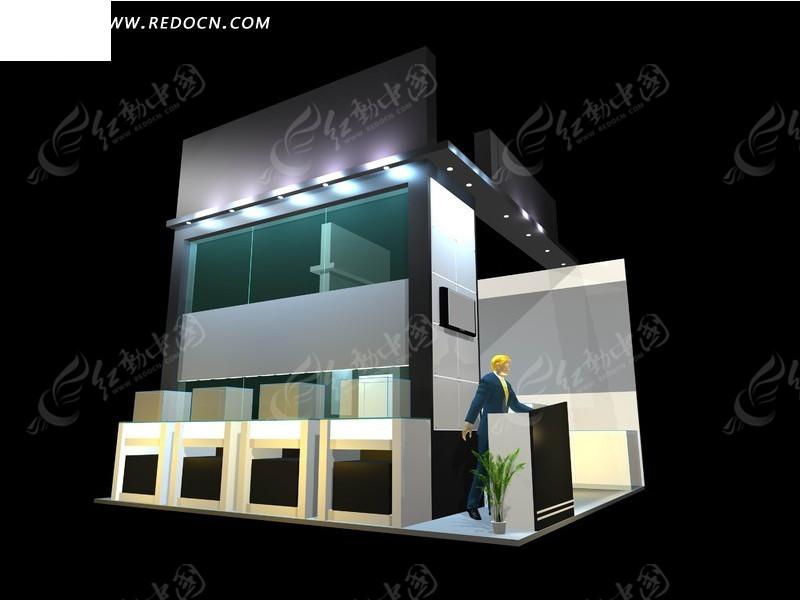 欧式风格商业展厅设计效