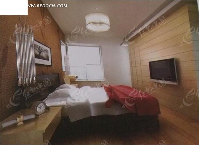 免费素材 3d素材 3d模型 室内设计 简单卧室3d效果图  请您分享: 素材