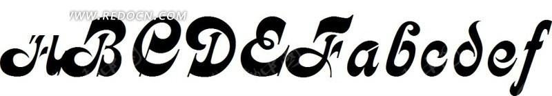 英文字母       字库       字体设计