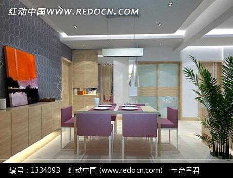 现代家居室内设计3dmax效果图