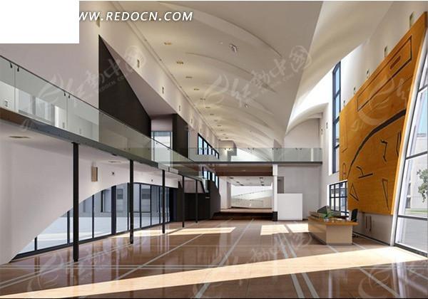 现代简约室内设计3dmax效果图