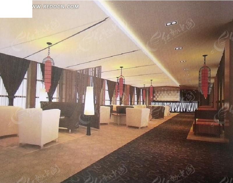 酒吧餐厅设计3d效果图图片高清图片