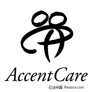 accentcare英文标志