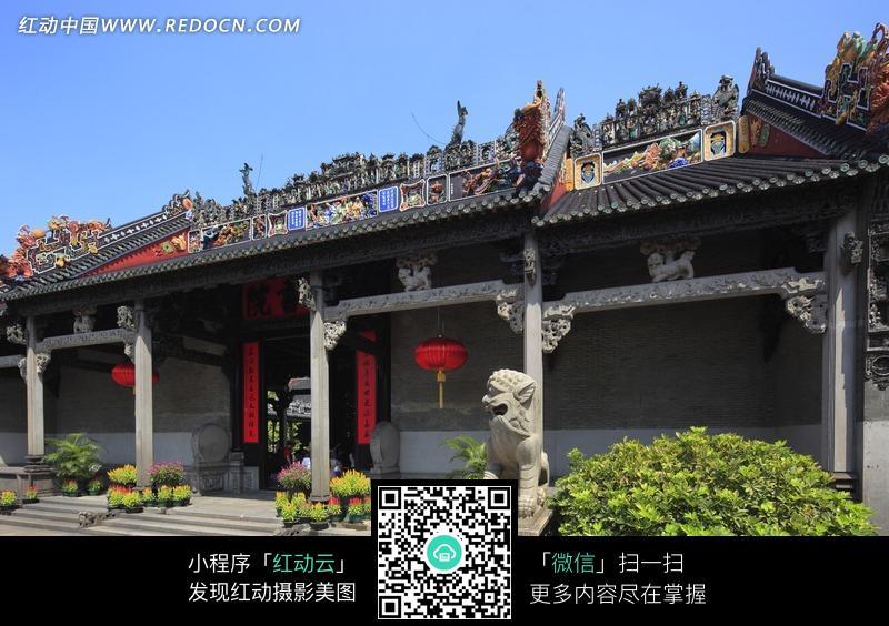 免费素材 图片素材 环境居住 名胜古迹 广州陈家祠堂  请您分享: 素材