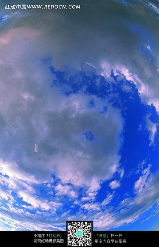 免费素材 图片素材 自然风光 自然风景 天空中螺旋状的云朵  请您分享