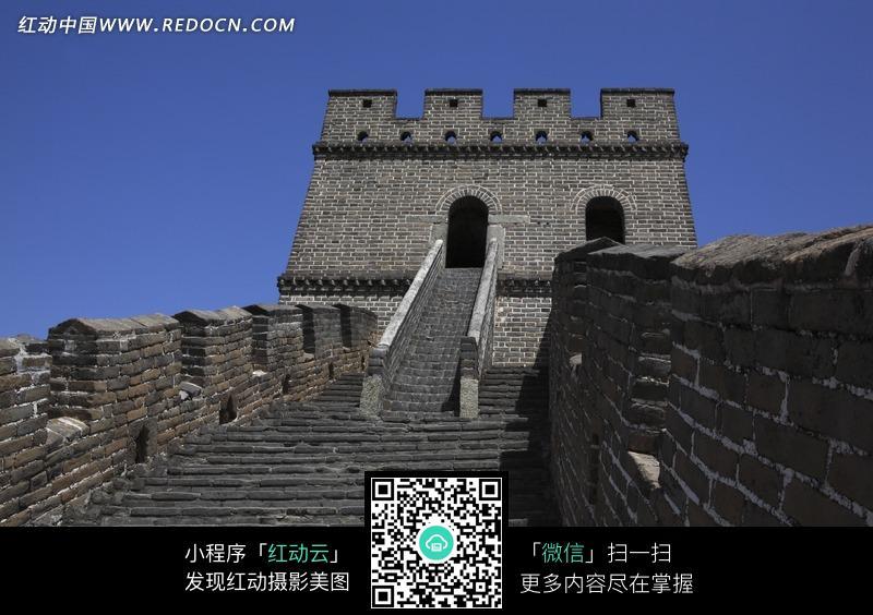 长城烽火台高清图片