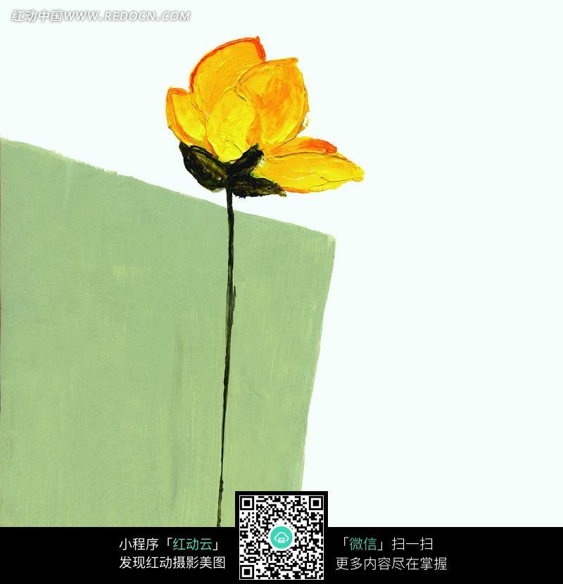 油画图片花朵_简单油画图片