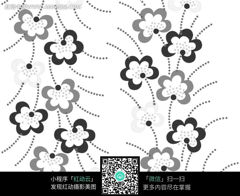 手绘盆栽植物卡通