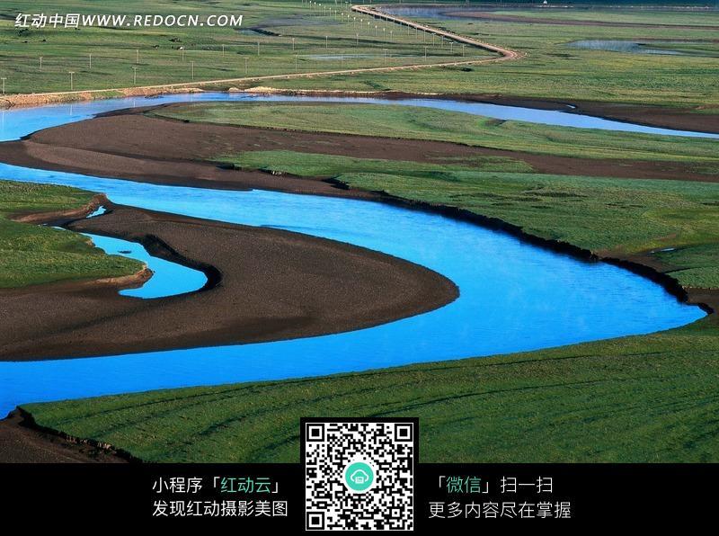 草地河流图片编号:1380539 自然风景