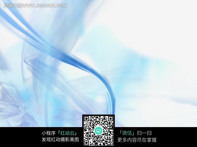 白底灰青蓝色绸缎纹理水波线条背景图片图片
