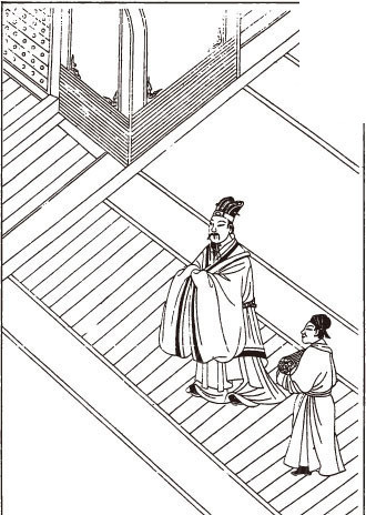 古代场景图—借事纳忠