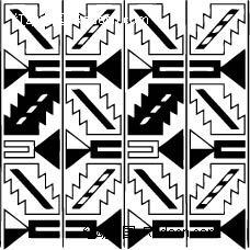 中国古典图案-几何形构成的抽象图形图片