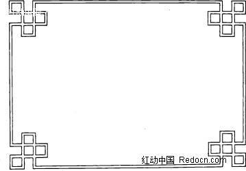 古典边框素材