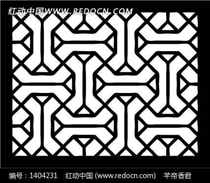 几何形构成的方形图案图片