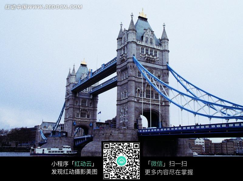 英国伦敦塔桥摄影图图片