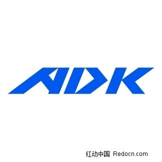 免费素材 矢量素材 标志|图标 行业标志 adk英文logo设计  请您分享
