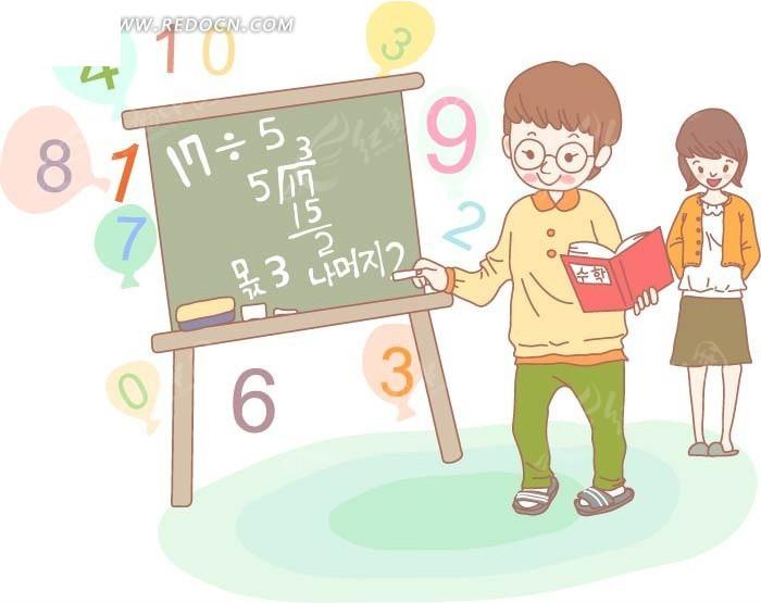 数学动漫人物简笔画