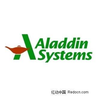 a字母打头英文logo之aladdinsystems图片