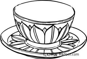 杯 杯子 简笔画 设计 矢量 矢量图 手绘 素材 线稿 304_206图片