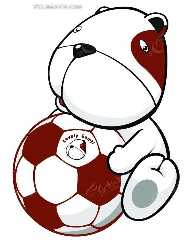 卡通足球_可爱卡通足球图片
