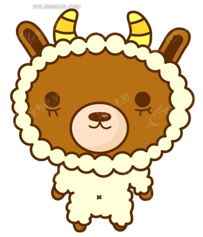 可爱小熊psd素材免费下载