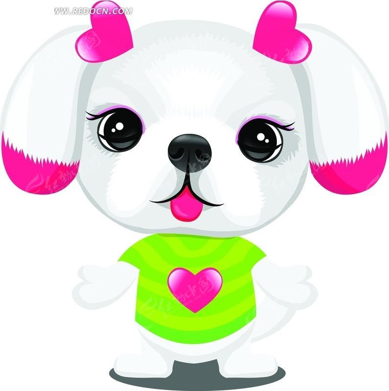 手绘可爱的卡通小熊猫