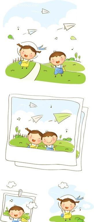 儿童 纸飞机