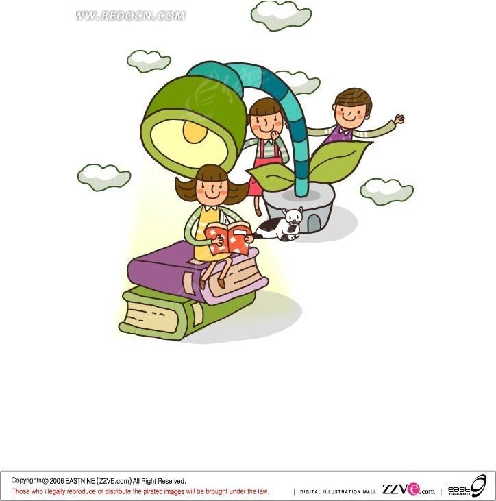 校园生活 手绘漫画