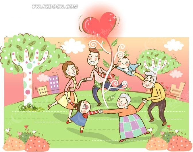 高清偷拍泳装商城的更衣室性粉嫩的女孩138mbmp42501vv_拉手的幸福一家人绕着爱心树
