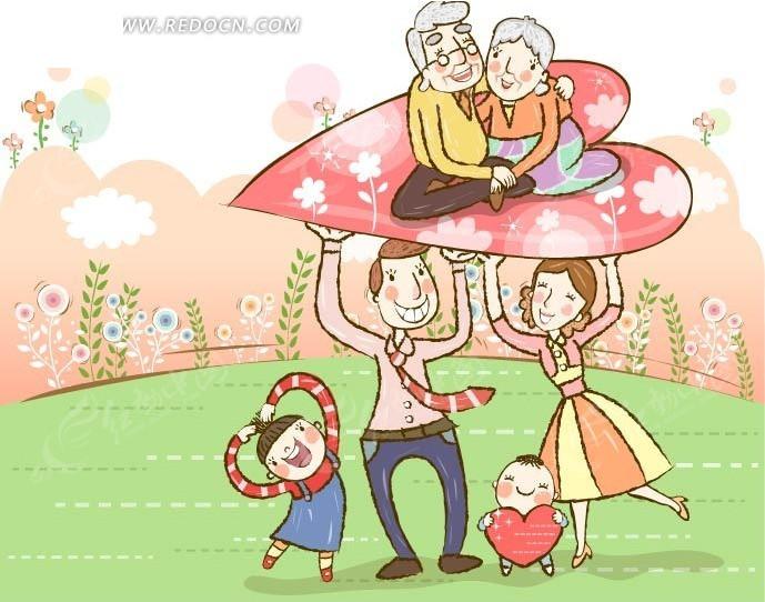 我们现在的生活与爷爷奶奶爸爸妈妈小时候相比存在什么不同?图片