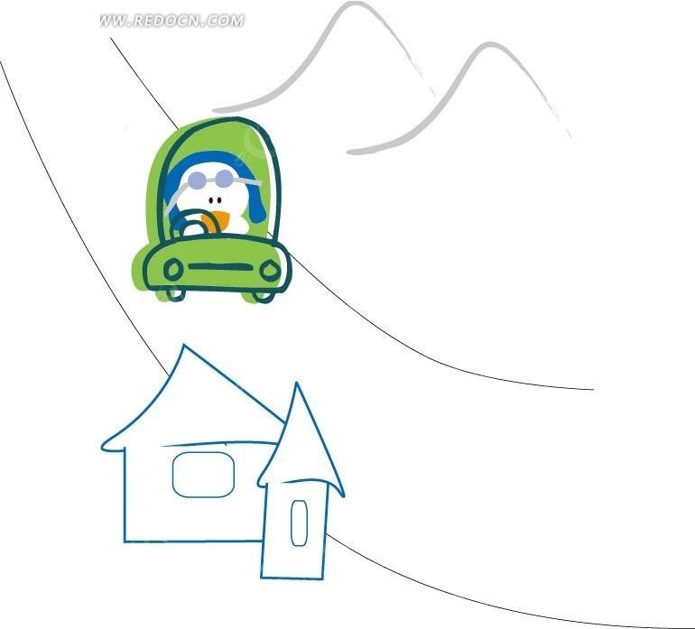 三角形顶房子图片_第5页_乐乐简笔画