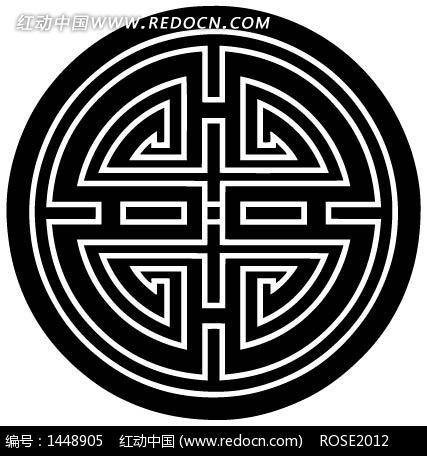 免费素材 矢量素材 艺术文化 传统图案 中国古典图案-几何形和线条图片