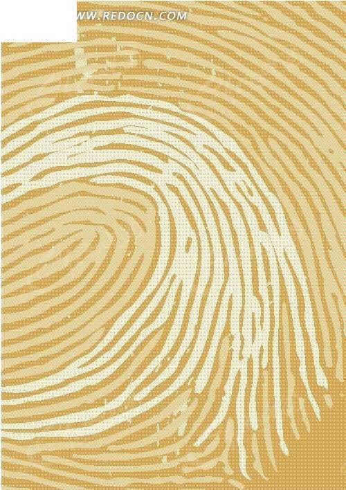 手绘抽象指纹图案背景