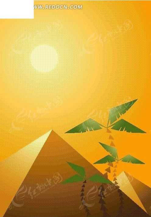 金字塔 风筝