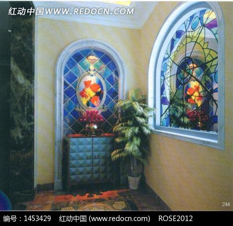 欧式门窗设计3d效果图