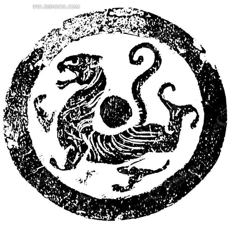 免费素材 矢量素材 艺术文化 传统图案 中国传统虎纹  请您分享: 素材