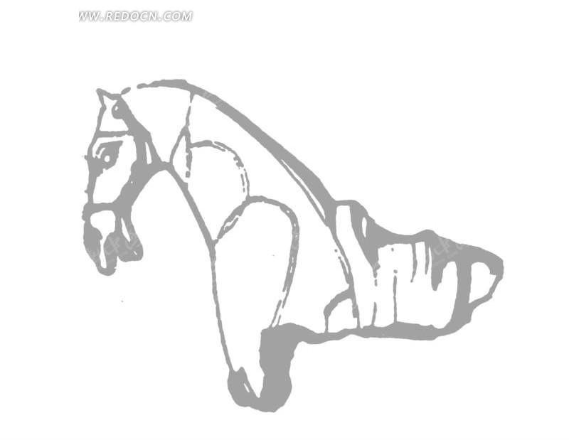 中国古代雕刻-马头的雕刻