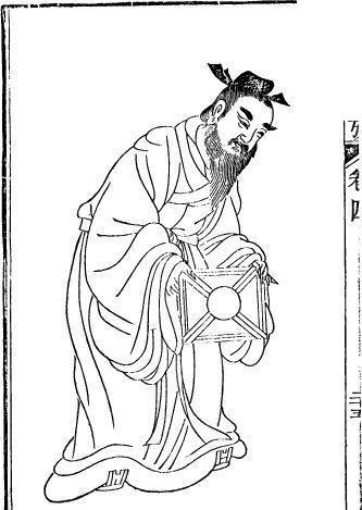圣庙祀典图考-古代人物矢量图