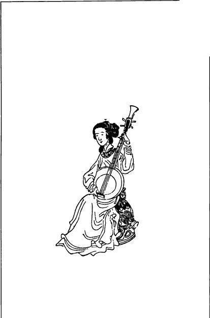 古代女子跳舞画手绘