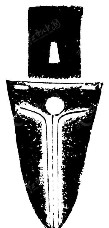 手绘的匕首