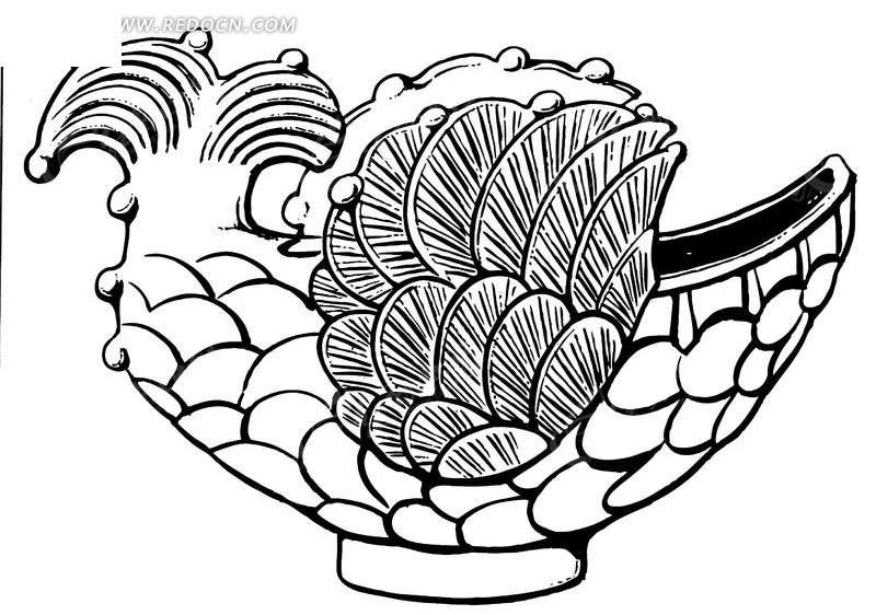 鱼鳞皮肤病囹�a�`�yx~x�_古代瓷器鱼鳞花纹图案