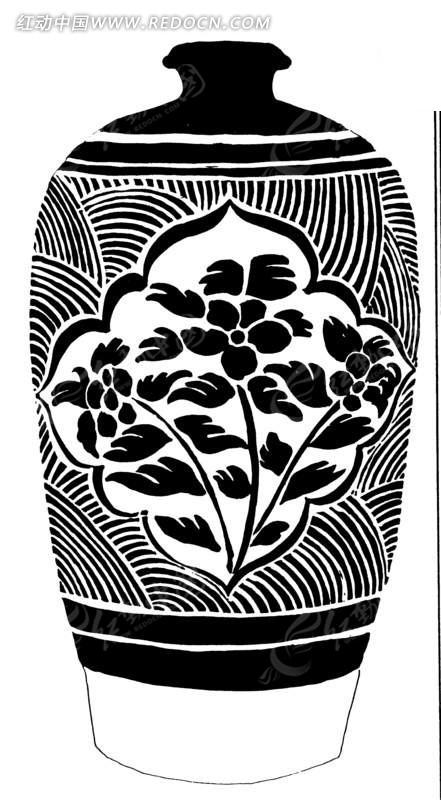 手绘花瓶设计图片创意分享展示
