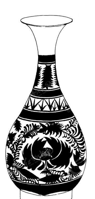 卡通青花瓷花瓶AI素材免费下载 编号1471313 红动网