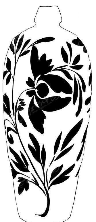 手绘陶瓷花纹图片_陶瓷花纹图片