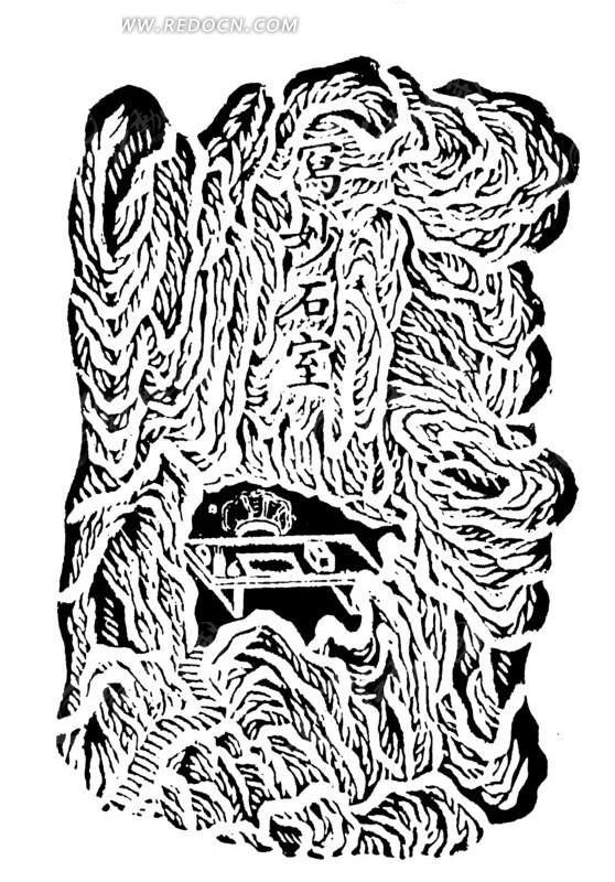 欧式婚礼柱子雕纹