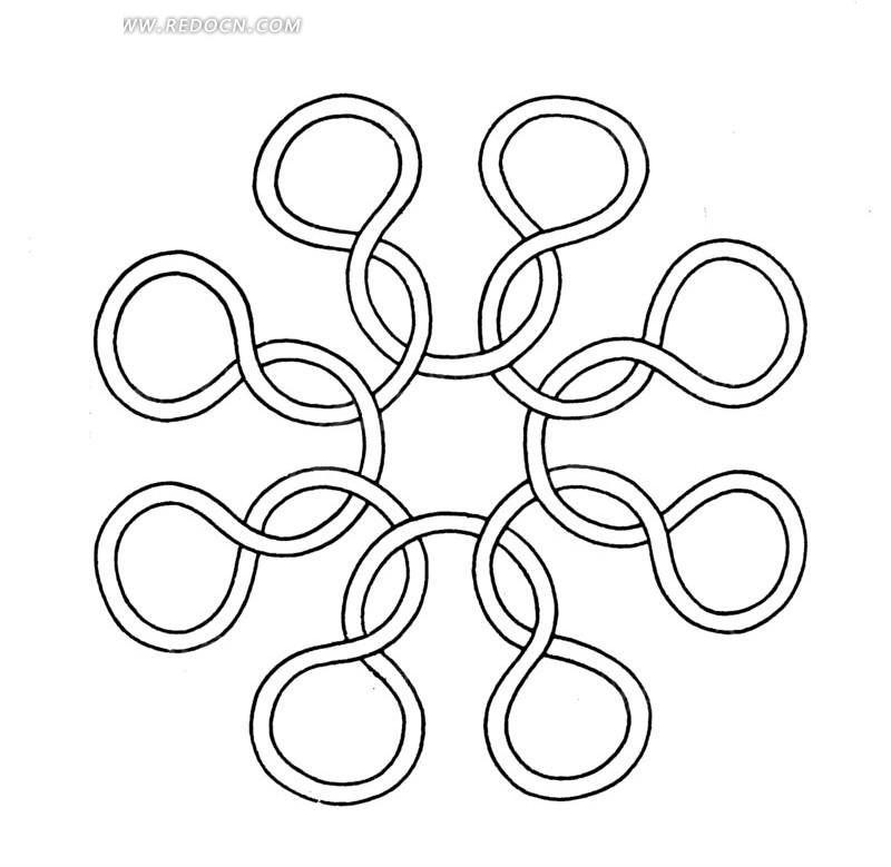 圆圈画图片大全
